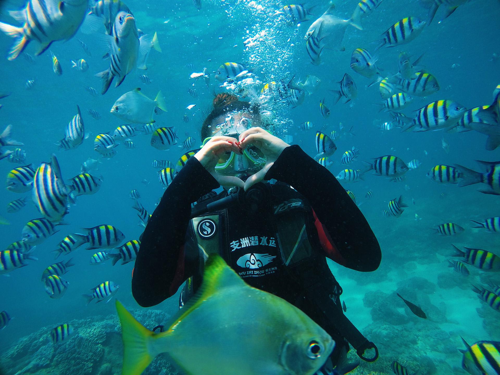 潜水区一览